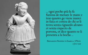 Quotation - letter to Isabella d'Este