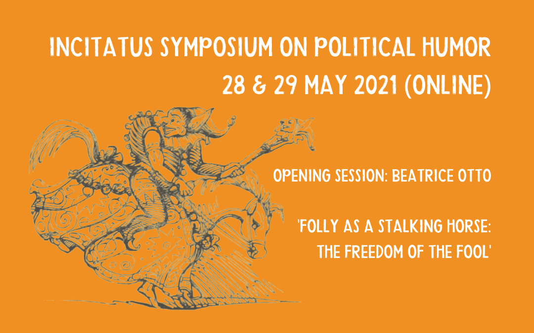 Invitation – Symposium on Political Humor – online 28-29 May 2021