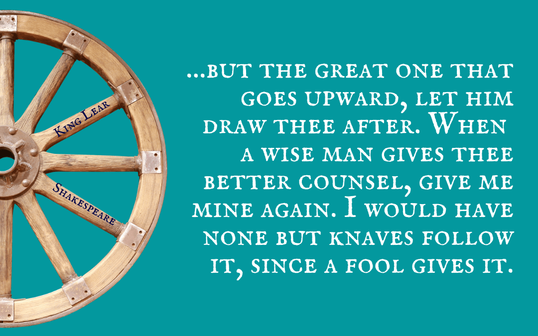 Quotation - King Lear - Shakespeare