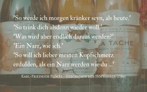 Quotation - Flogel Hofnarren